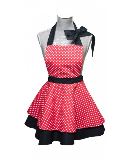 Vintage apron Wendy Girl