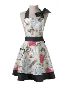 Vintage apron Wendy Paris