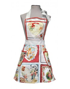 Vintage Apron woman Alma Angels