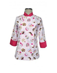 Jacket Sweet CupCakes Pink kitchen