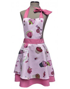 Vintage Apron woman Wendy Sweet
