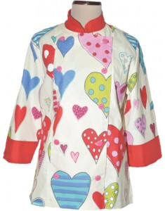 Chaqueta de cocina Sweet Jacket Happy