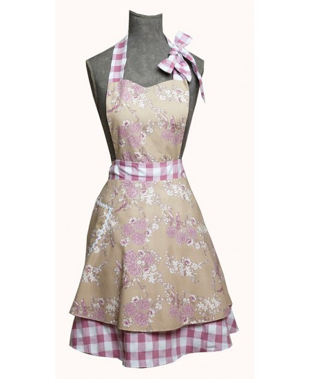 Vintage apron Wendy Birds